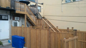 Fence Repairs and Deck