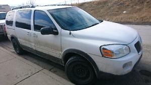 2006 Pontiac Montana SV6 Minivan, Van NEEDS WORK