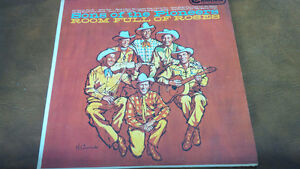 LP: Sons of the Pioneers, Room Full of Roses