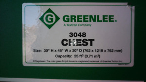 Greelee 3048 Chest - Perfect condition $550 OBO
