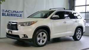 Toyota Highlander LIMITED AWD ** AUCUN ACCIDENT ** 2014