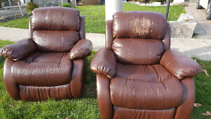 Bonded Leather Recliners