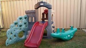 Little Tikes Playgym with slide,steering wheel, climbing wall, Ocean Reef Joondalup Area Preview