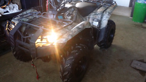 2014 Grizzly 4 wheeler