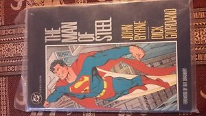 DC Comics The Man Of Steel Graphic Novel
