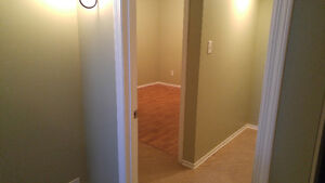 Basement suite for rent in St. Vital.
