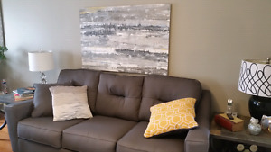 Latge Original Abstract Art painted by local artist