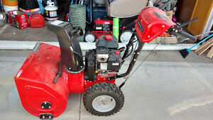 """Like New Snapper L1226E (26"""") Dual-Stage Snow Blower"""