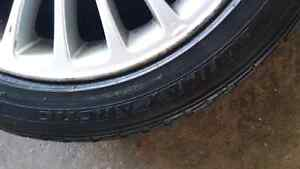 Bmw winter tires and rims 5x120