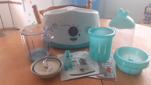 Bebedelice (Babymoov) Food Processor + Bottle Warmer/Sterilizer