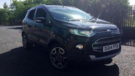 2014 Ford Ecosport 1.5 TDCi Titanium (X Pack) Manual Diesel Hatchback