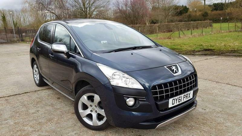 2011/12 Peugeot 3008 Crossover 1.6e-HDi Automatic Exclusive MEGA SPEC