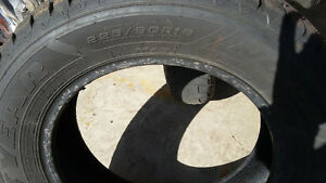 4 Goodyear Winter Tires. Used 1 Season