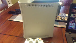 Xbox 360 Console with contoller