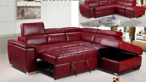 YEAR END SALE ON SECTIONAL SOFA BED