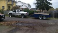 Dump Trailer Hauling and Garbage Removal