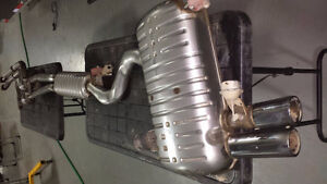 E90 complete OEM exhaust system