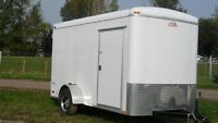 "Pre-owned 2014 6'x12' ""Cargo Mate"" Enclosed Trailer - LIKE NEW !"