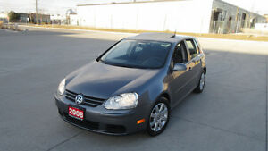 2008 VW Golf,  4 Door, Sunroof, Gas Saver, 3/Y warranty availabl