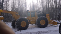 forestry and heavy equipment operator