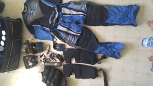 Paintball bag and gear