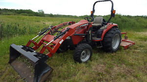 CaseIH Farmall (DX) 45 Compact Tractor with Front End Loader 72""