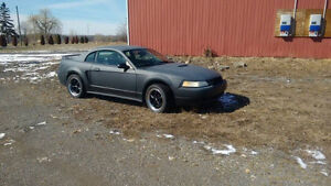 2000 Ford Mustang Coupe (2 door) for parts or feld car