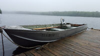 14 foot Aluminum Boat, Works Good, Used All Summer, 800obo
