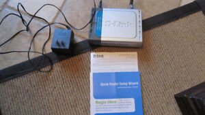 Routeur sans fil D-Link wireless router