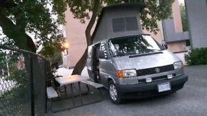 vw winnebago eurovan camper