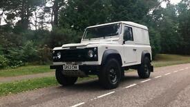 2004 Land Rover 90 Defender Van 2.5 Td5 px swap export