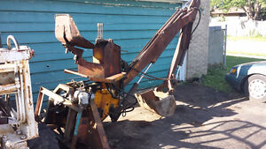 McConnel 3 Point Hitch Backhoe