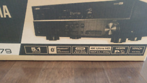 Yamaha receiver, new, never used....model RX-V379