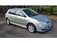 2006(55) TOYOTA COROLLA 1.6 VVT-i SILVER MANUAL. **LOW MILES**