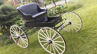 Antique Horse Drawn Carriage from 1900's