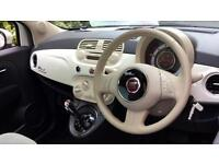 2014 Fiat 500 1.2 Lounge Dualogic (Start Sto Automatic Petrol Hatchback