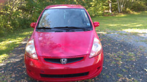 2007 Honda Fit LX Hatchback vtec