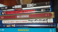 Huge selection of dvd's & blu ray