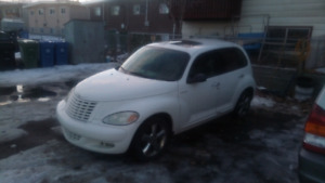 2004 Chrysler PT Cruiser GT Turbo leather sunroof Sedan