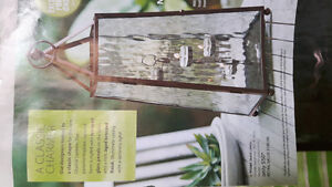Party Lite Candle Holder Lantern