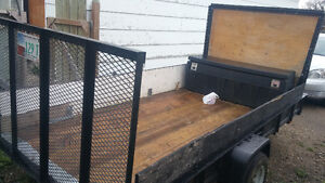 2012 13 ft utility trailer for sale 1500. Obo