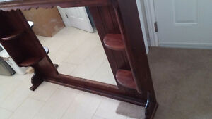 'All Wood' -Mirror unit for Dresser Peterborough Peterborough Area image 2