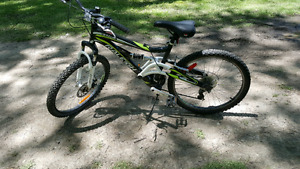 "24"" 27 speed mountain bike"