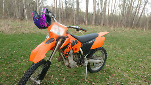 Looking to trade my ktm 525sx