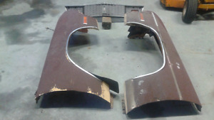 Plymouth fenders and grill