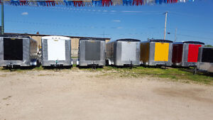 Fall Inventory Clearance on 7 x 14 Enclosed Trailers