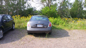 Nissan Altima for parts or repair