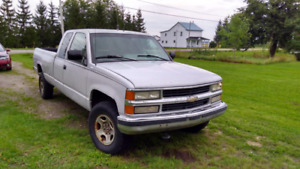 Chevrolet Silverado 95 , 4x4 , boîte de 8'
