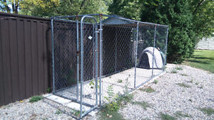 Large Outside Dog Kennel with big dog house!!!