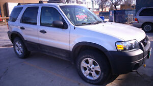2007 Ford Escape XLT SUV,